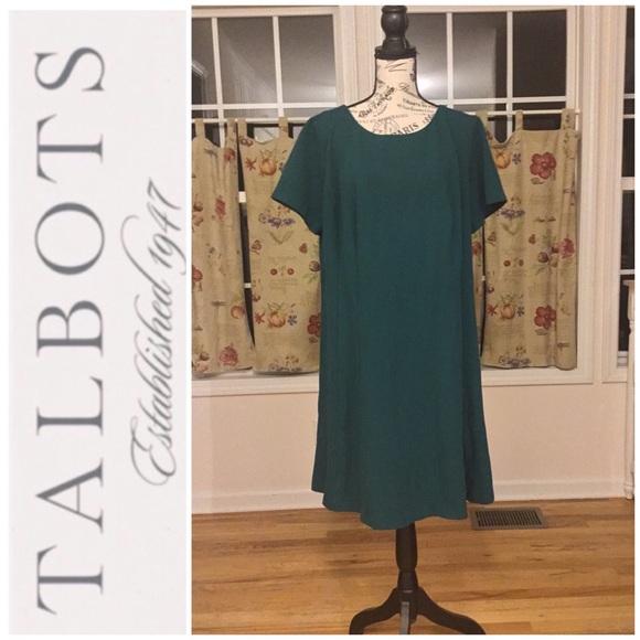 Talbots Dresses & Skirts - Talbots Sheath Dress Hunter Green Size 16W